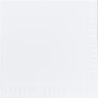 Servietter Duni 1 lag, 24x24 hvit 6000 stk