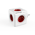 Powercube Original stikkkontakt rød