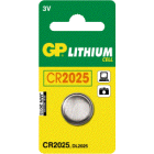 Batteri GP CR 2025 3V Lithium