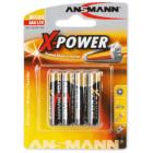 Batteri Xpower alkalisk LR03 4stk