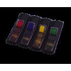 3M Post-It Index pil liten ass. farge