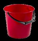 Bøtte 10 ltr rød