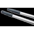 Aluminiumsskaft 150cm m/ skrugjenger