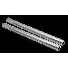 Rør aluminium (sett 2 stk) komplett Ø.32