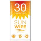 Sunwipe SPF30 våtserviett solkrem (4 stk)