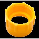 Kobling dia. 65mm til fatpumpe (gul)