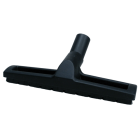 Gulvmunnstykke light Ø.32 m/ børste & hjul, sort