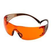3M Vernebrille SecureFit Orange Linse SF406SGAF-BL