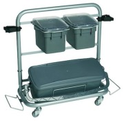 Cleaning trolley, QSR, Vikan