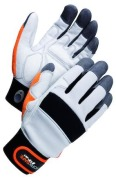 Assembly glove, synthetic WS M40 9 Grey