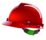 Helmet MSA V-Gard  Red