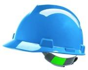 Helmet MSA V-Gard  Blue