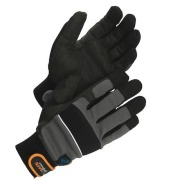 Assembly glove, synthetic WS M50 10 Grey