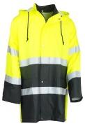 Rain Coat HV 20471 Yellow/Black XL