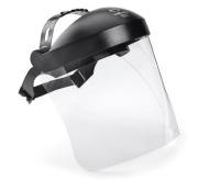 Headgear w Visor SAFE 3 65100 polycarbon