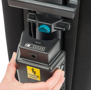 Batteri Li-Ion f/ VBU-II teppebanker m/ indikator