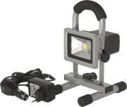 Arbeidslampe LED 10w. oppladbar m/ gulvstativ