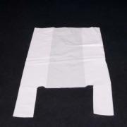Bærepose LD plast, hvit