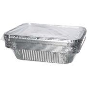 Aluminiumform 1/2 gastro 3600 ml inkl. alu lokk