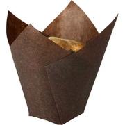 Bakform Tulip, Brun, (50x95 mm)