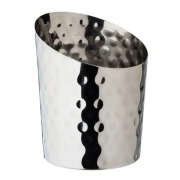 Angled Conical Hammered Cup (44cl)
