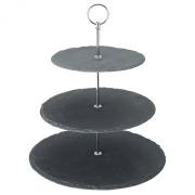 3 Tier Slate Platter (30, 25, 20cm).
