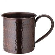 Aged Copper Hammered  Mug 19oz (54cl)