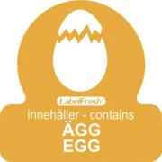 LabelFresh Allergenes - egg (SE/EN)