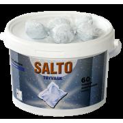 Salto Tøyvask (60 doser) for hvitt og farget tøy