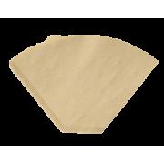Kaffefilter 1x4 Duni ubleket 1 ltr. 12x200 stk.