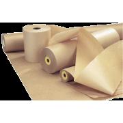 Kraftpapir ubleket 75cm 100g 10kg pr rull