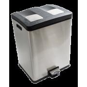 Multiflux avfallsbeholder 2 x 30 ltr