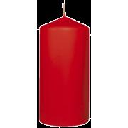 Kubbelys  Rød 60x130mm (6 stk pr pk)