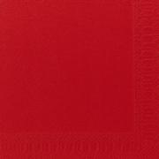 Servietter Duni 3 lag, 40x40 rød 1000 stk