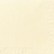 Servietter Duni 3 lag, 40x40 vanilje 1000 stk