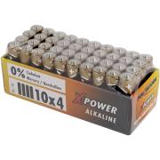 Batteri Xpower alkalisk LR06 20stk