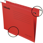 Hengemappe Pendaflex, Rød