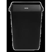 Katrin Waste Bin With Lid 50 Liter - Black