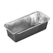 Aluminiums form 660 ml. 192x119x43 mm.
