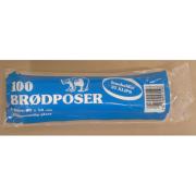 Plastposer Brødpose 22x50 rl. 100 stk