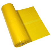 Søppelpose Gul 60x90cm 18/20my LD 500stk/krt