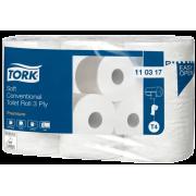 Toalettpapir Tork Myk Konvensjonell  3-lag, T4