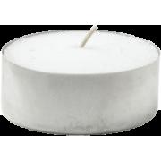 Telys Duni hvit, Ø=38 brennetid 6 timer