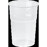 Duni plastglass 62 cl TREND 25stk
