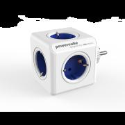 Powercube Original stikkkontakt blå