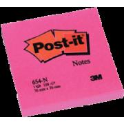 3M Post-It 654-Neonrosa 76x76mm