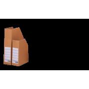 Arkivboks A5/  brun krt
