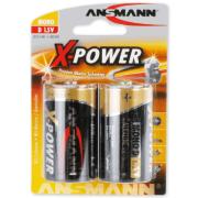 Batteri Xpower alkalisk LR20 2stk