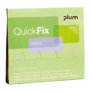 Plum QuicFix plaster refill 1x45 stk. elastic