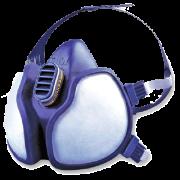 3M Maske damp/støv 4251klas.ffa1p2d.halvmaske